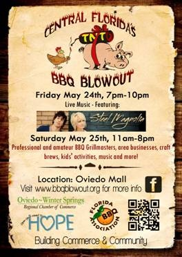 Hope BBQ Blowout Flyer